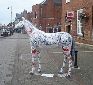 Newmarket website content writing page - Newmarket High Street by Stephen Harper-Scott.